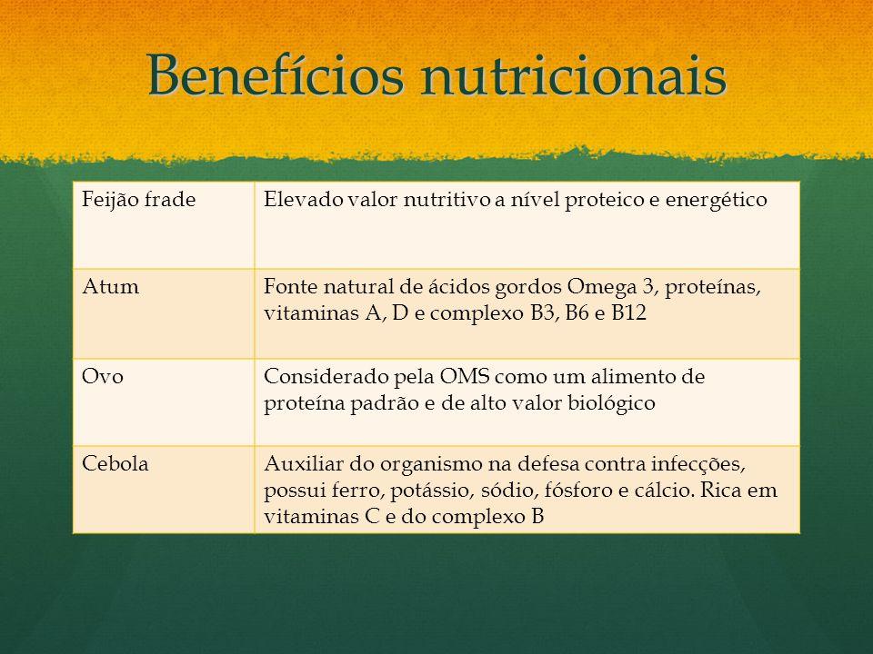 Benefícios nutricionais