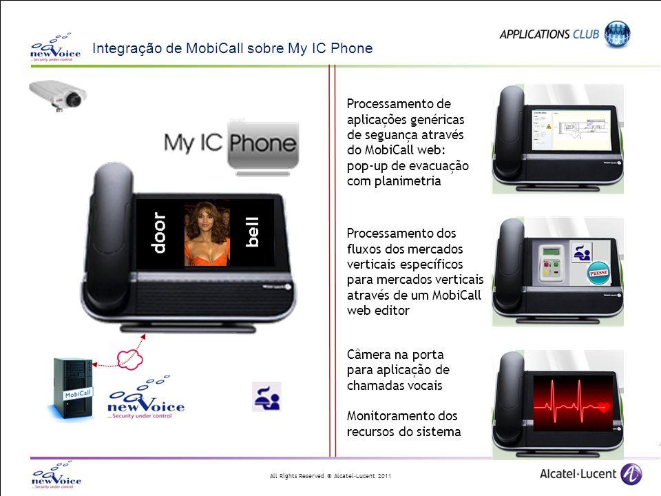 Integração de MobiCall sobre My IC Phone
