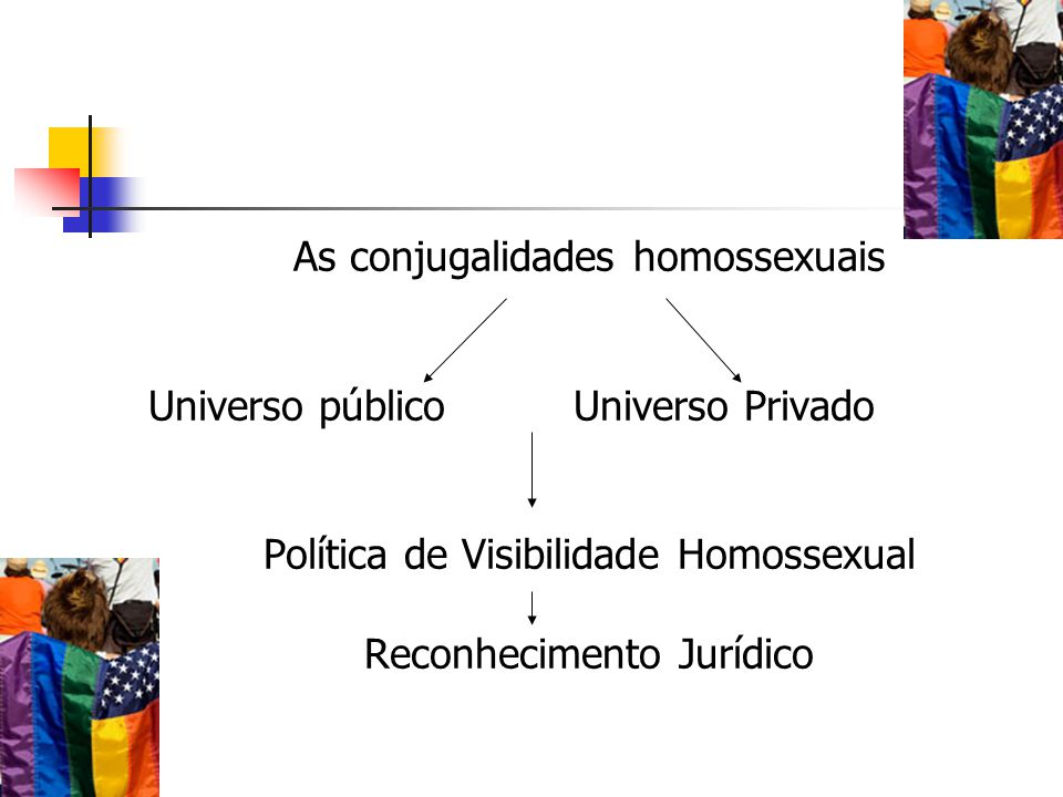 As conjugalidades homossexuais