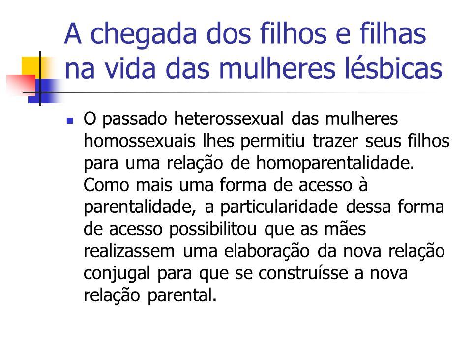 A chegada dos filhos e filhas na vida das mulheres lésbicas