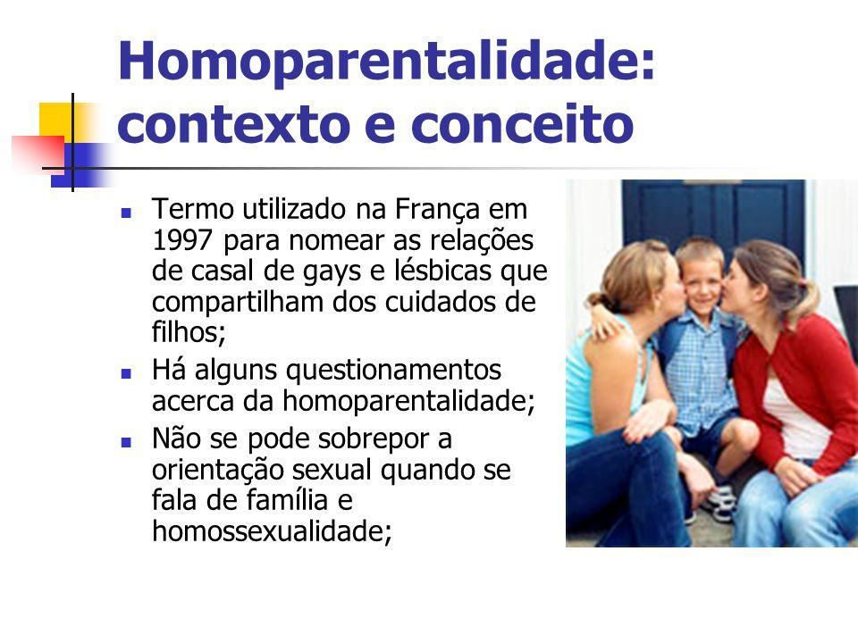 Homoparentalidade: contexto e conceito