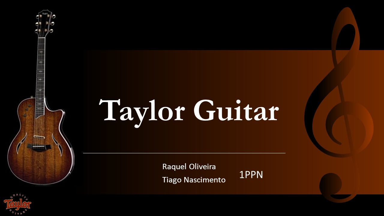 Taylor Guitar Raquel Oliveira Tiago Nascimento 1PPN