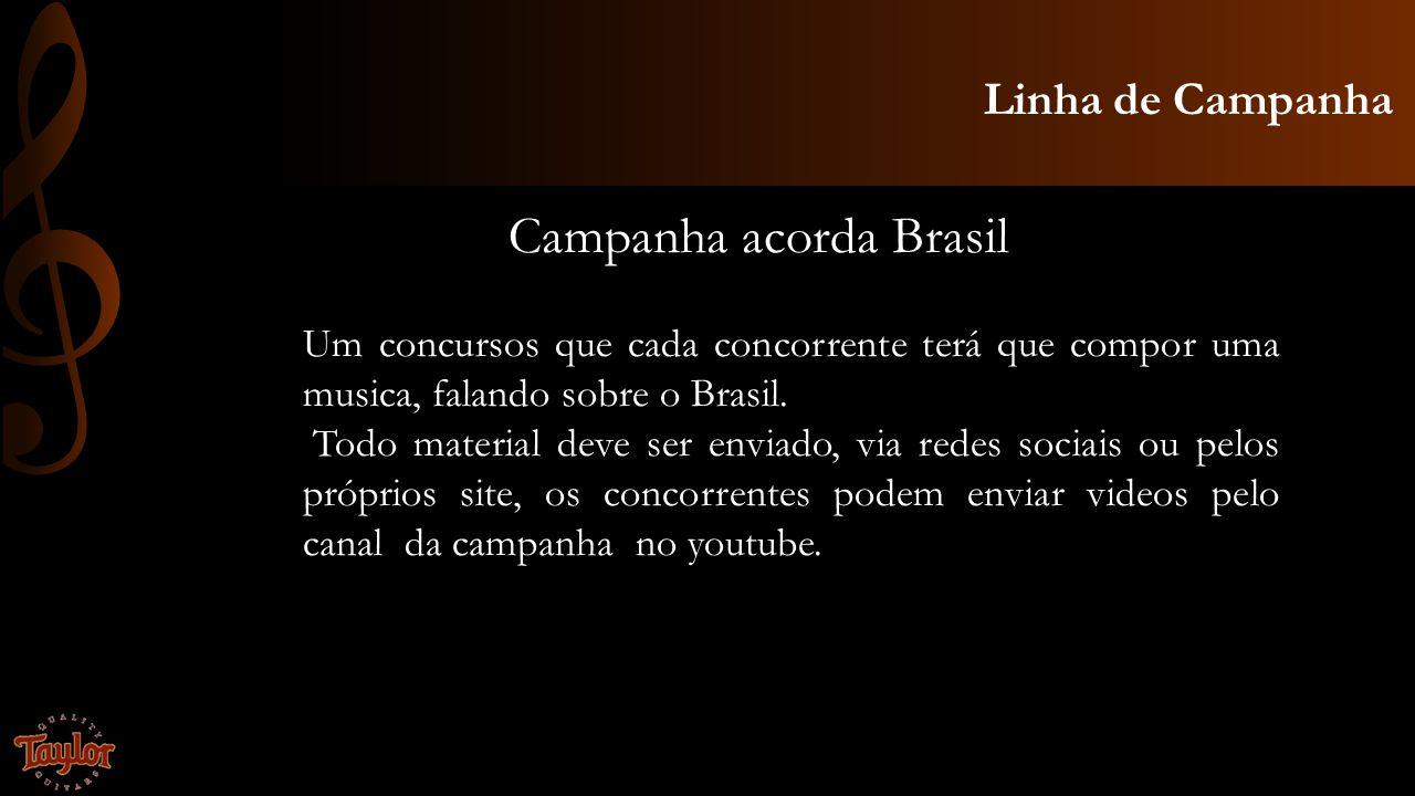 Campanha acorda Brasil