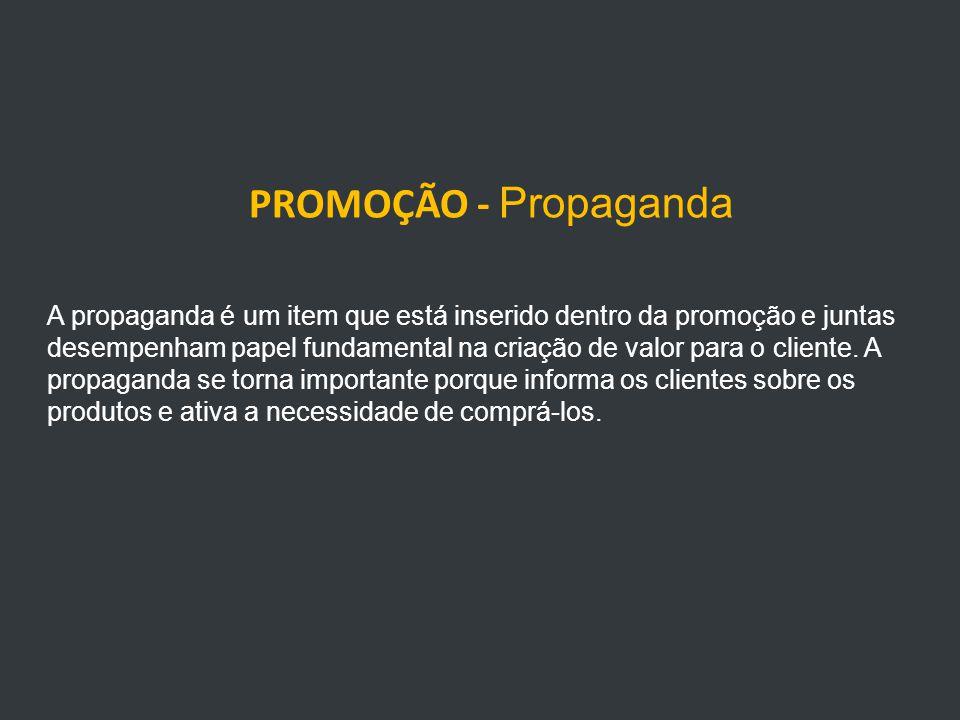 PROMOÇÃO - Propaganda