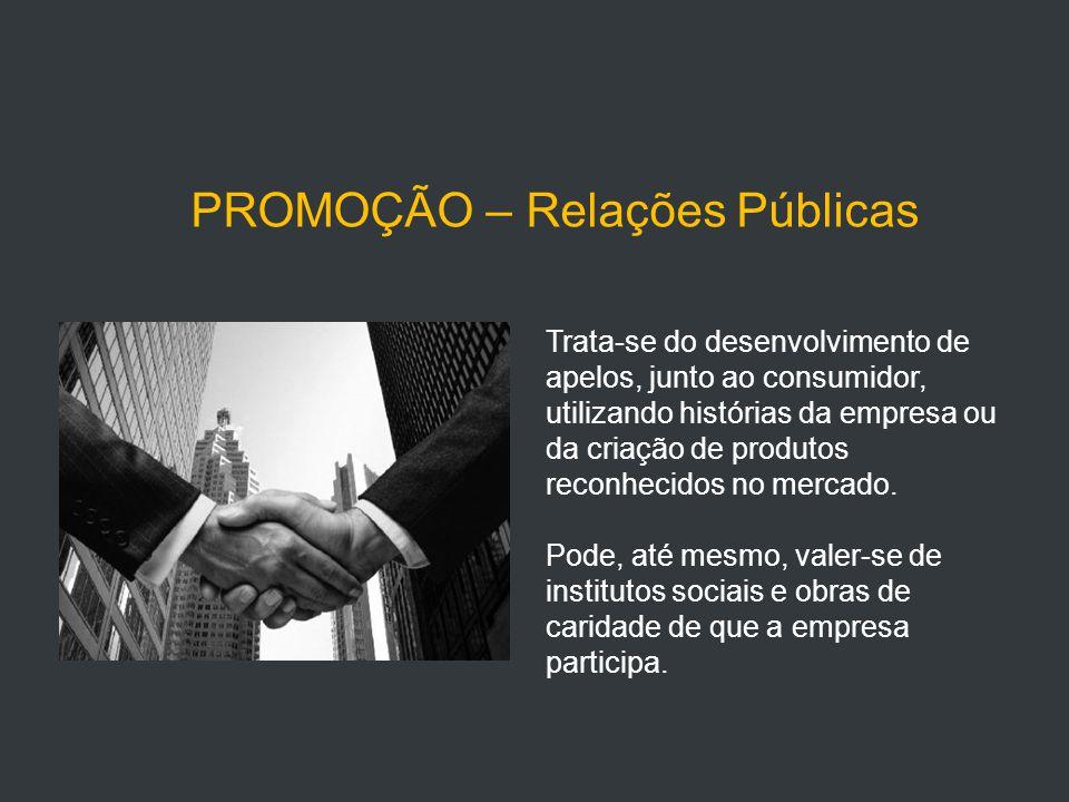 PROMOÇÃO – Relações Públicas