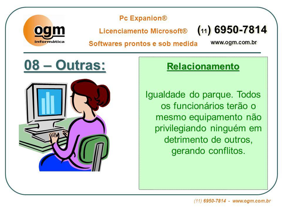 Licenciamento Microsoft® Softwares prontos e sob medida