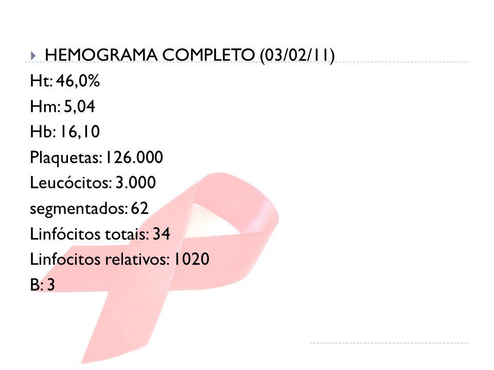 HEMOGRAMA COMPLETO (03/02/11)