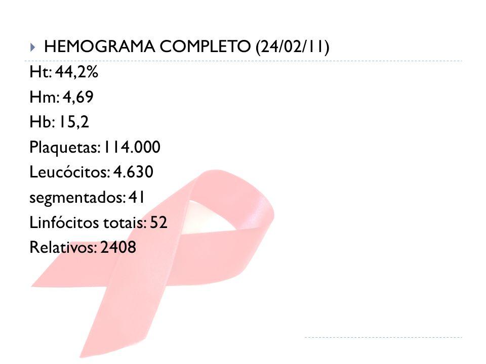HEMOGRAMA COMPLETO (24/02/11)