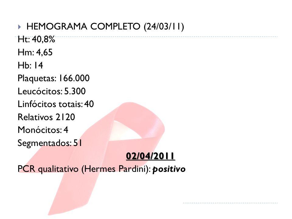 HEMOGRAMA COMPLETO (24/03/11)