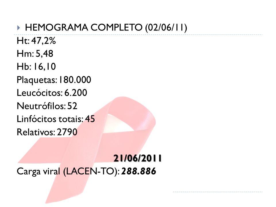 HEMOGRAMA COMPLETO (02/06/11)