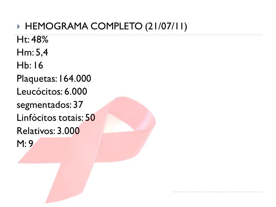 HEMOGRAMA COMPLETO (21/07/11)