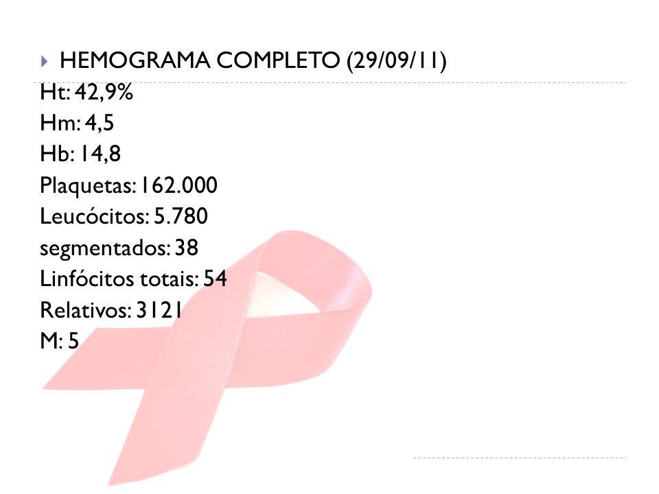 HEMOGRAMA COMPLETO (29/09/11)
