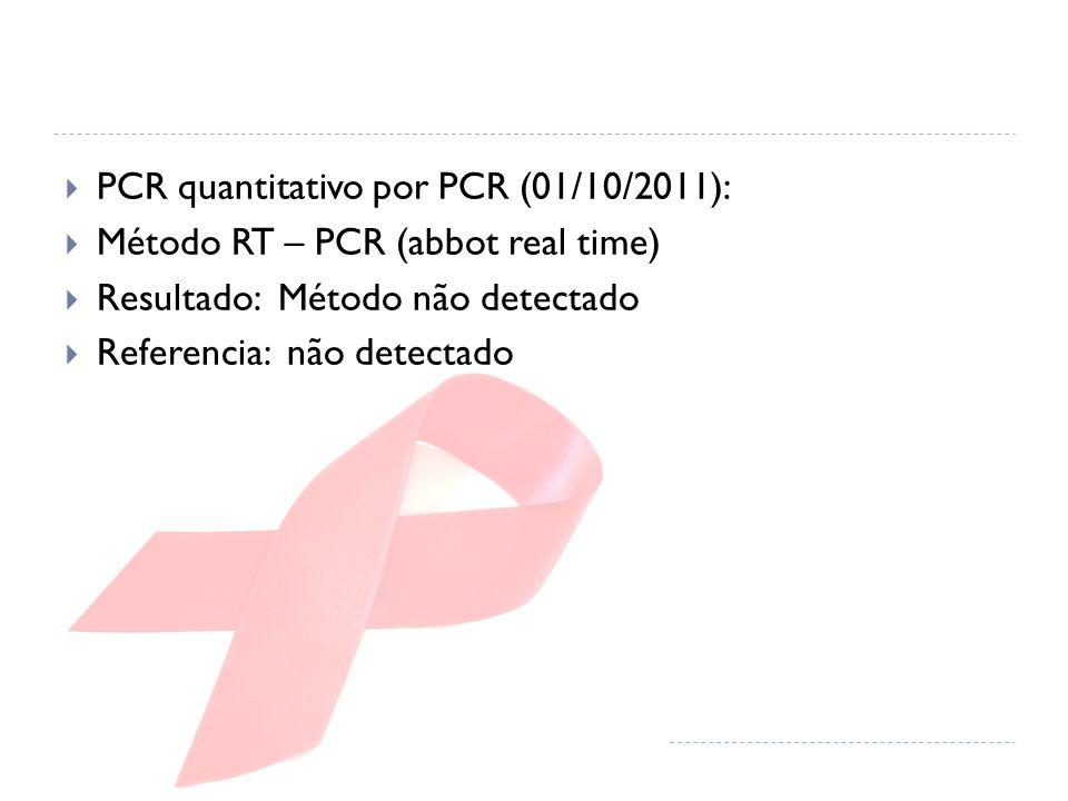 PCR quantitativo por PCR (01/10/2011):