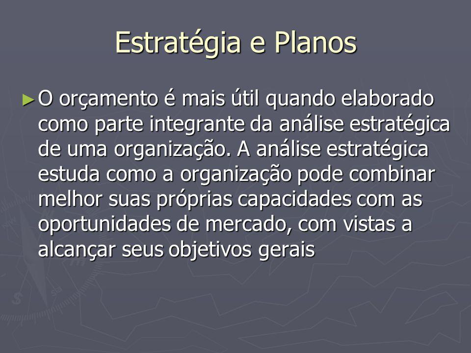 Estratégia e Planos