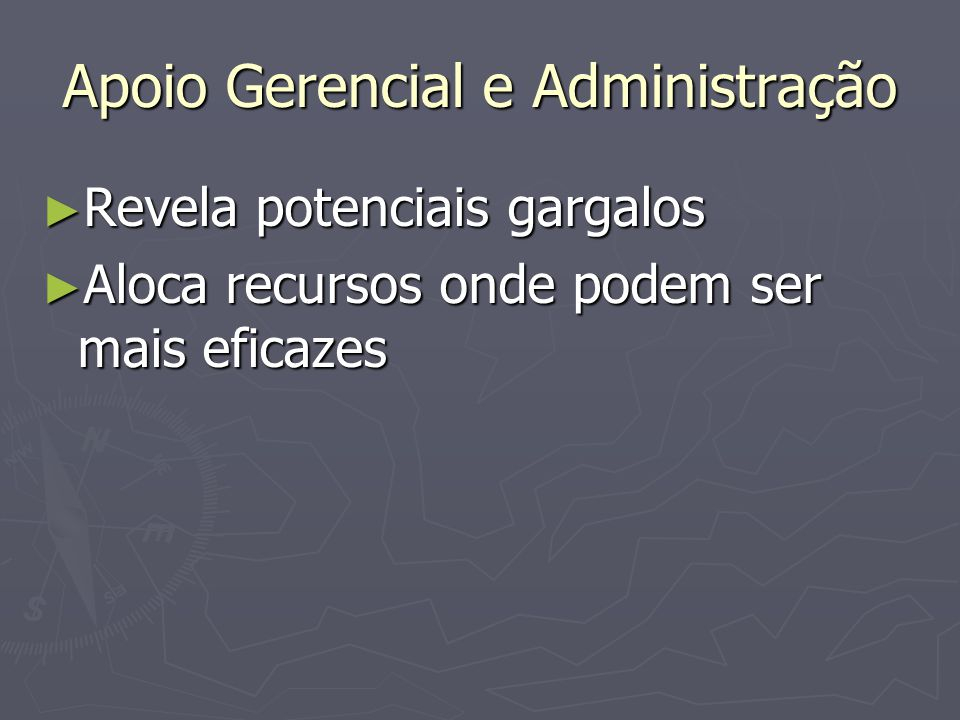 Apoio Gerencial e Administração