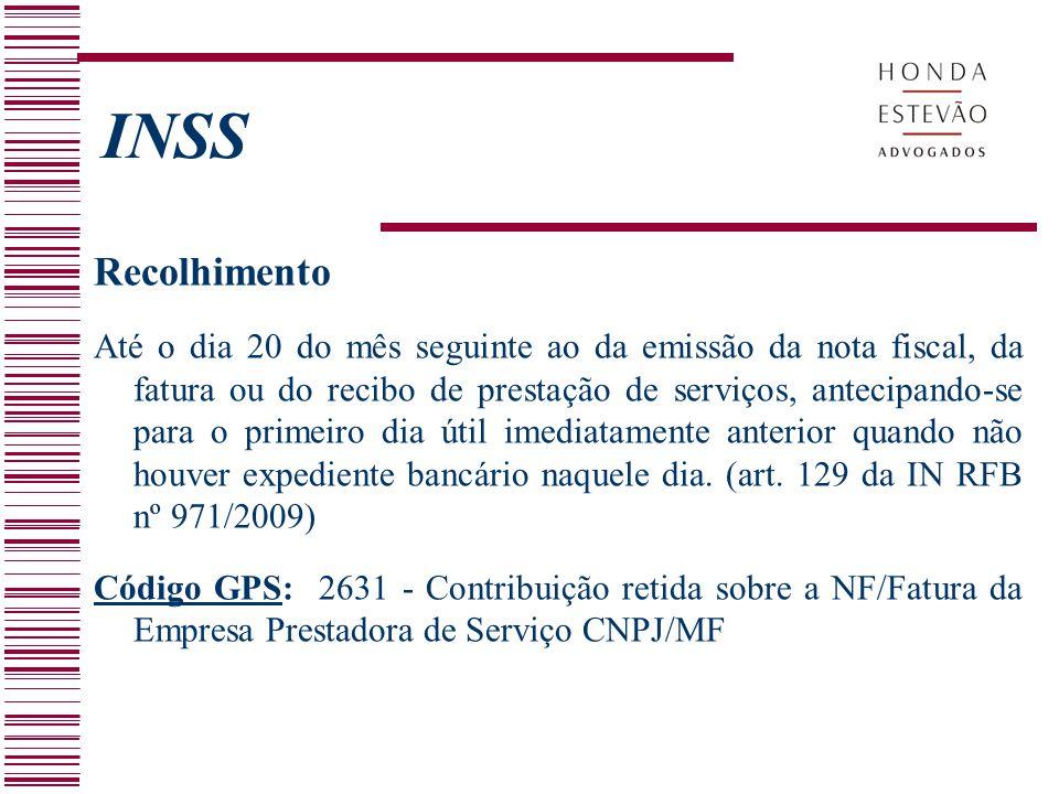INSS Recolhimento.