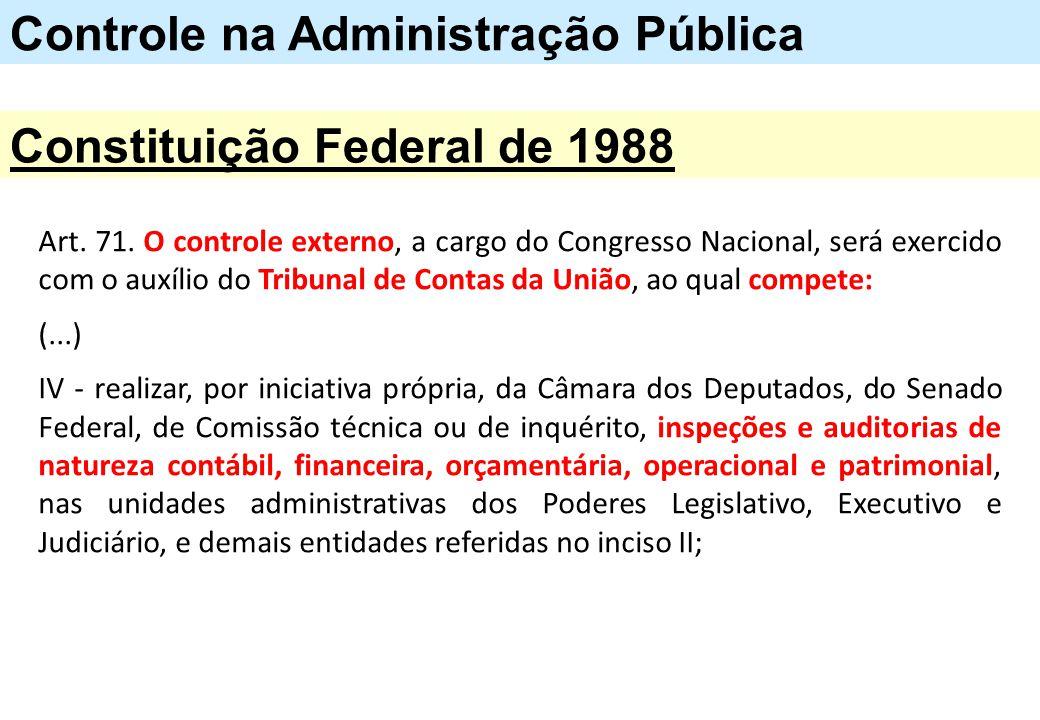 Controle na Administração Pública