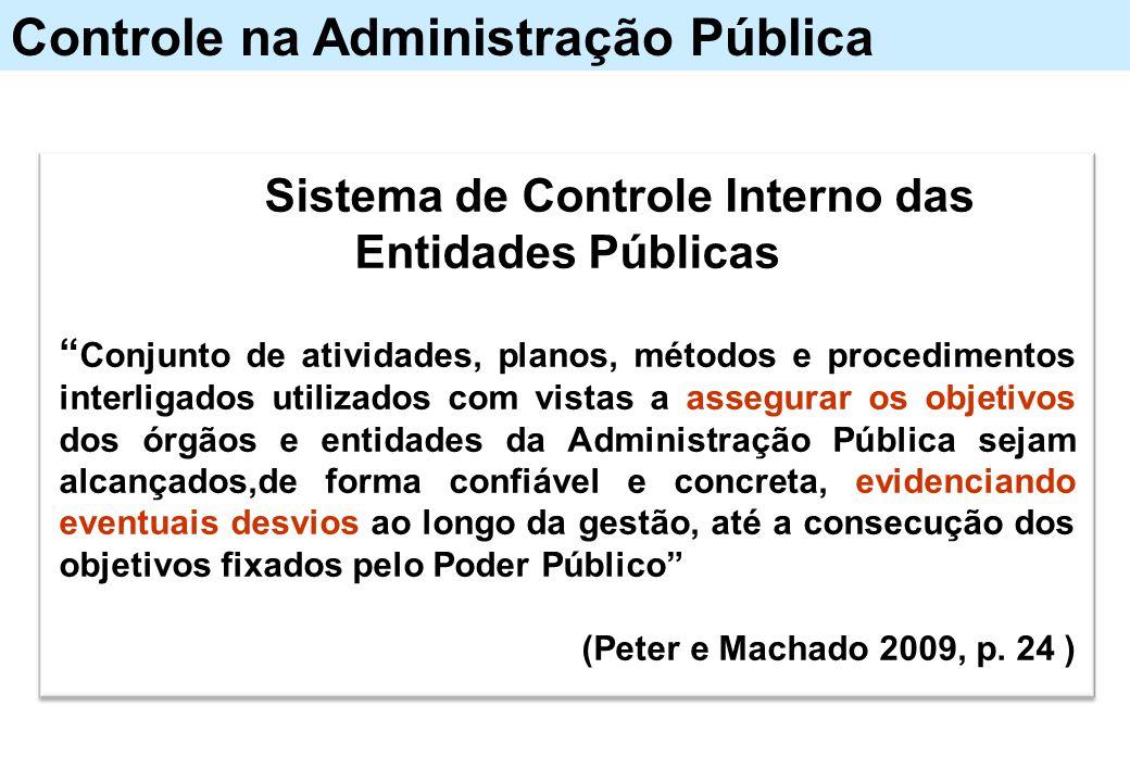 Sistema de Controle Interno das Entidades Públicas
