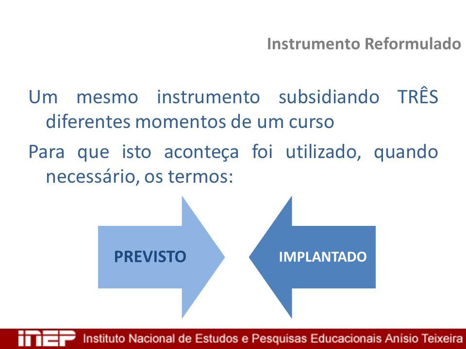 Instrumento Reformulado