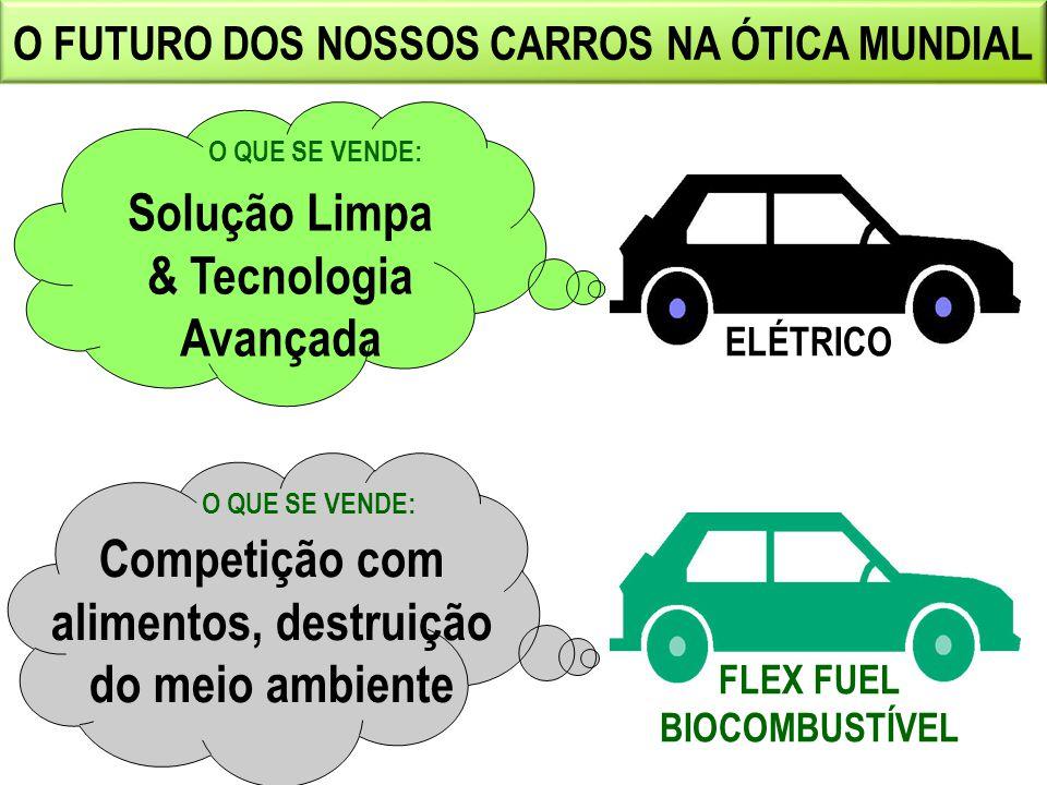 O FUTURO DOS NOSSOS CARROS NA ÓTICA MUNDIAL