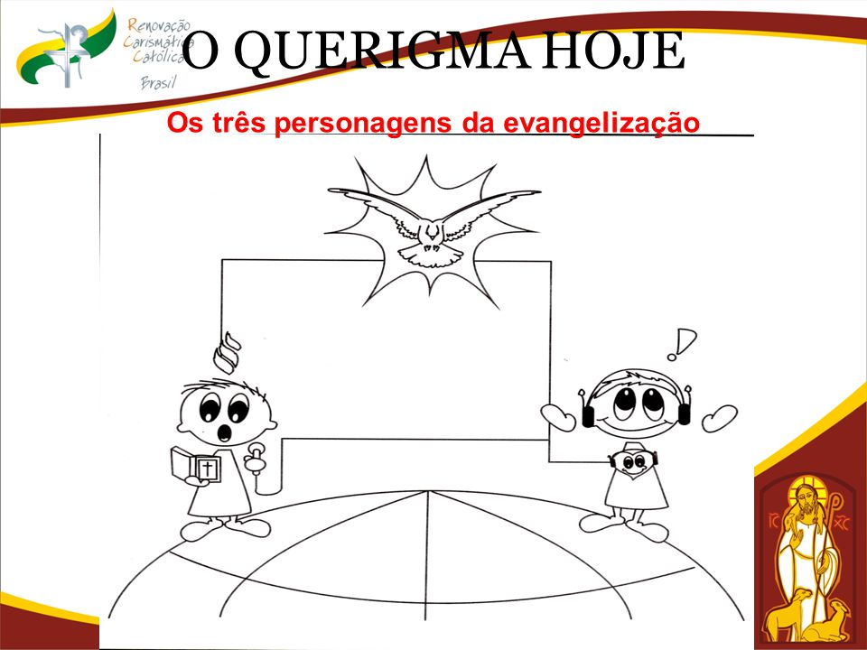 O QUERIGMA HOJE Os três personagens da evangelização