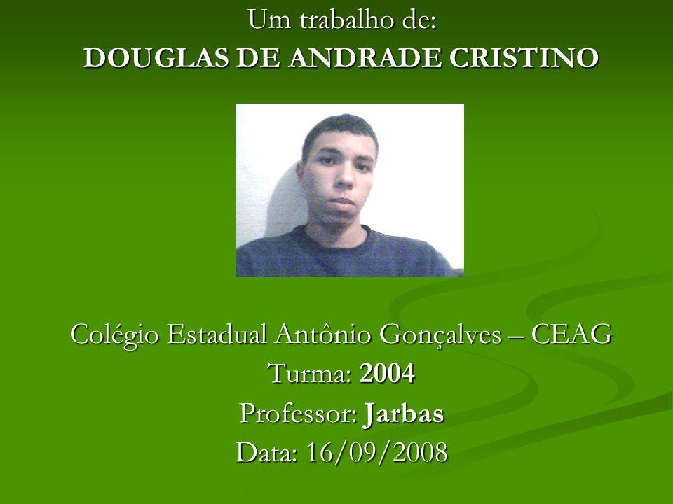 DOUGLAS DE ANDRADE CRISTINO