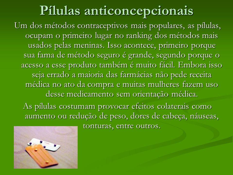 Pílulas anticoncepcionais