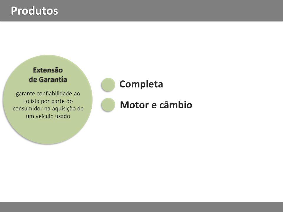 Produtos Completa Motor e câmbio Extensão de Garantia