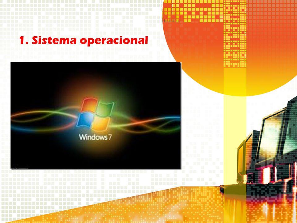 1. Sistema operacional