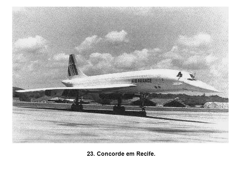 23. Concorde em Recife.