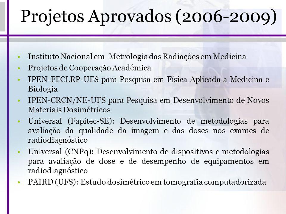 Projetos Aprovados (2006-2009)