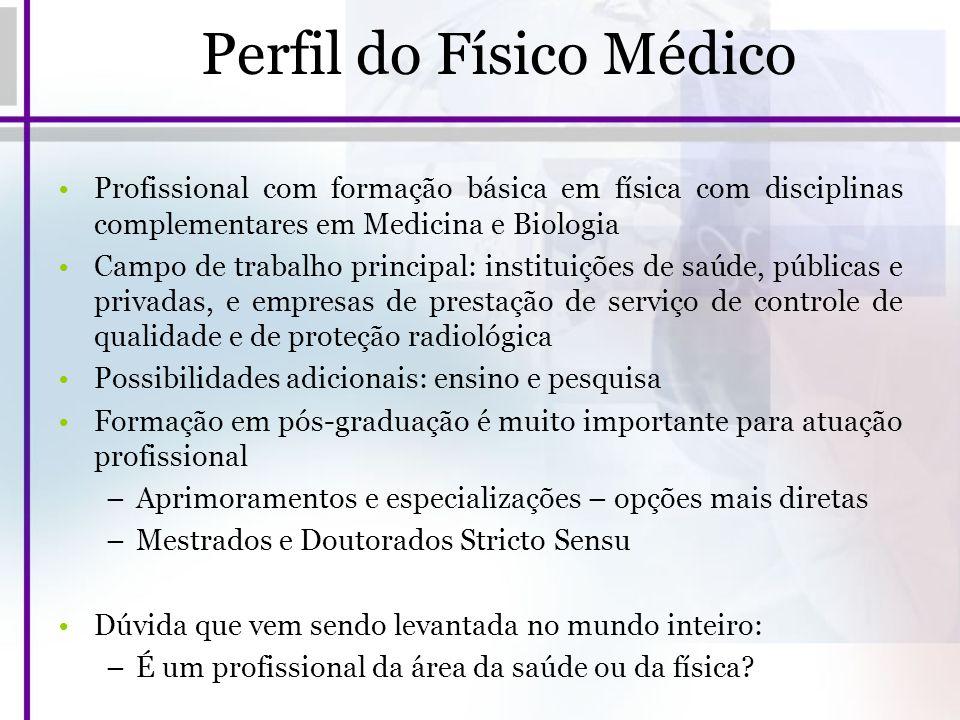 Perfil do Físico Médico