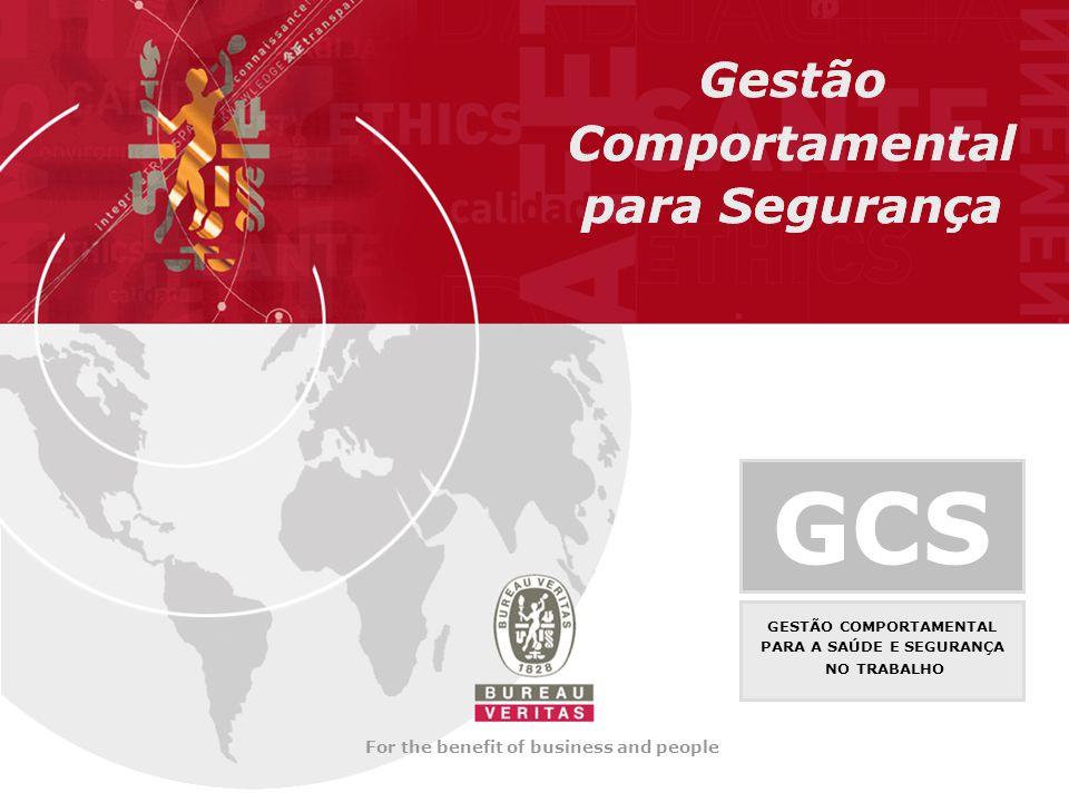 GCS Gestão Comportamental para Segurança