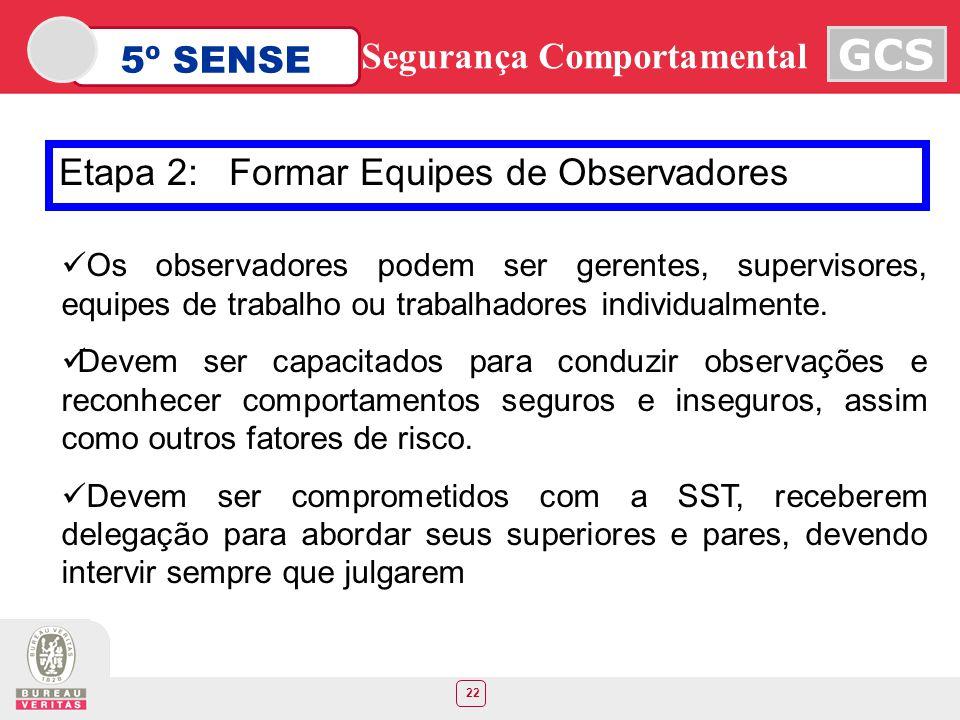 Etapa 2: Formar Equipes de Observadores