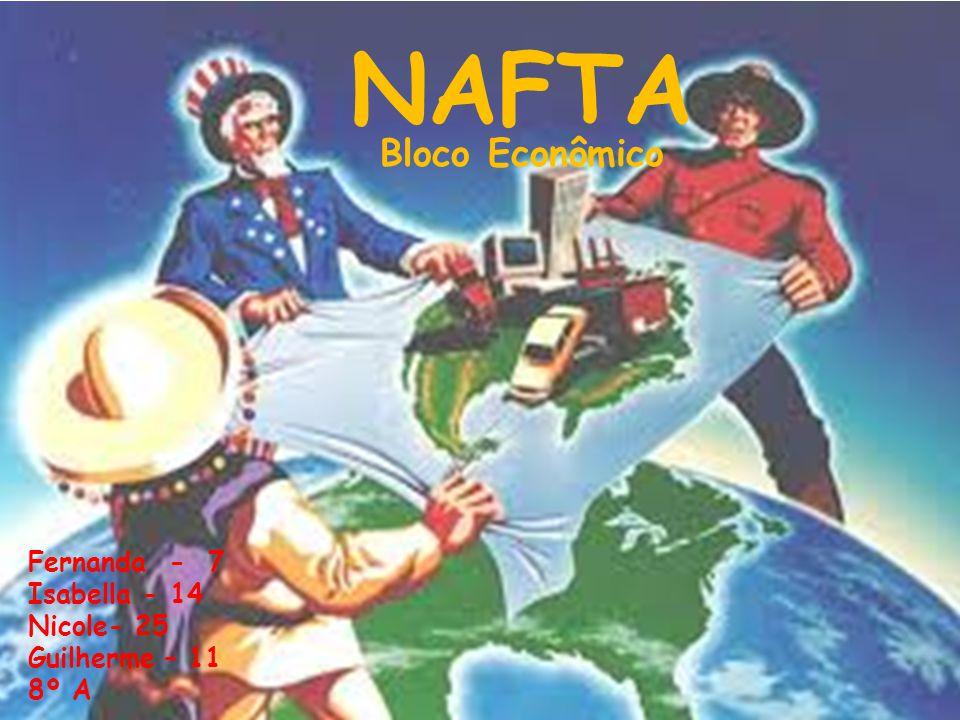 NAFTA Bloco Econômico Fernanda - 7 Isabella - 14 Nicole- 25