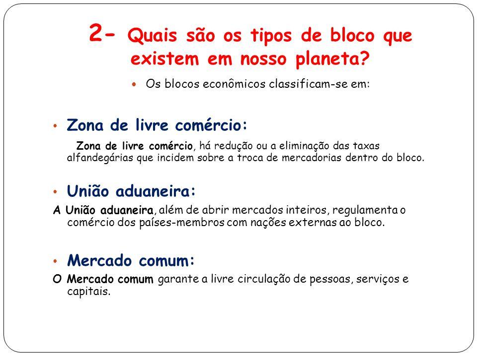 2- Quais são os tipos de bloco que existem em nosso planeta