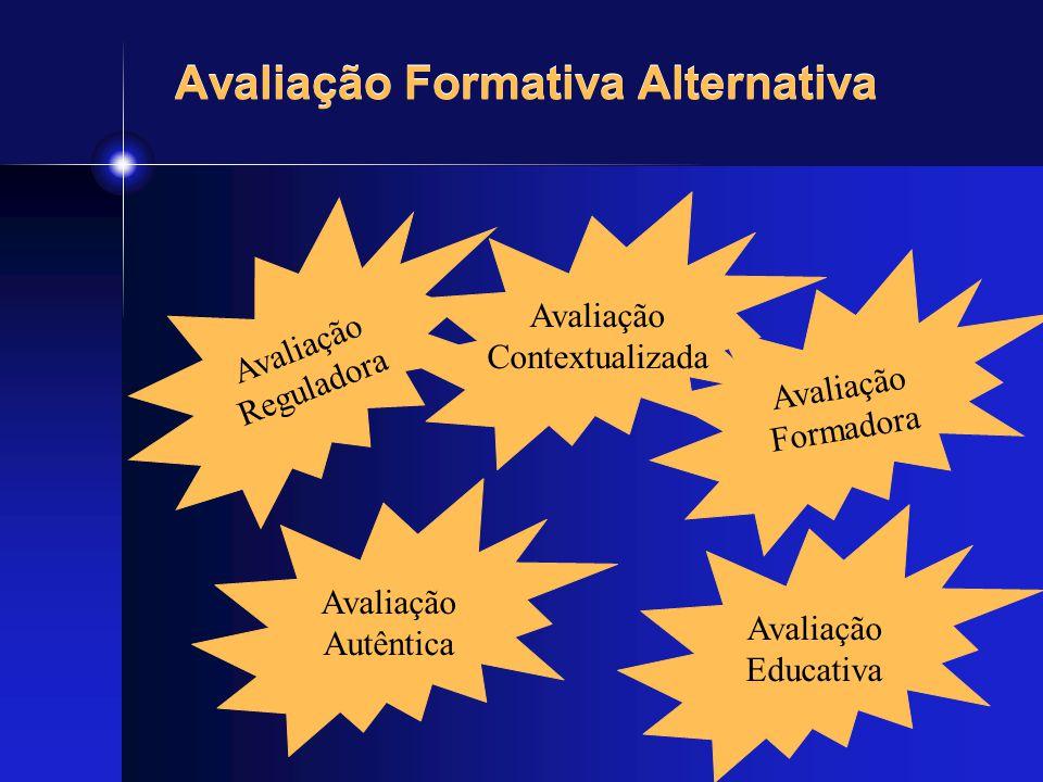 Avaliação Formativa Alternativa