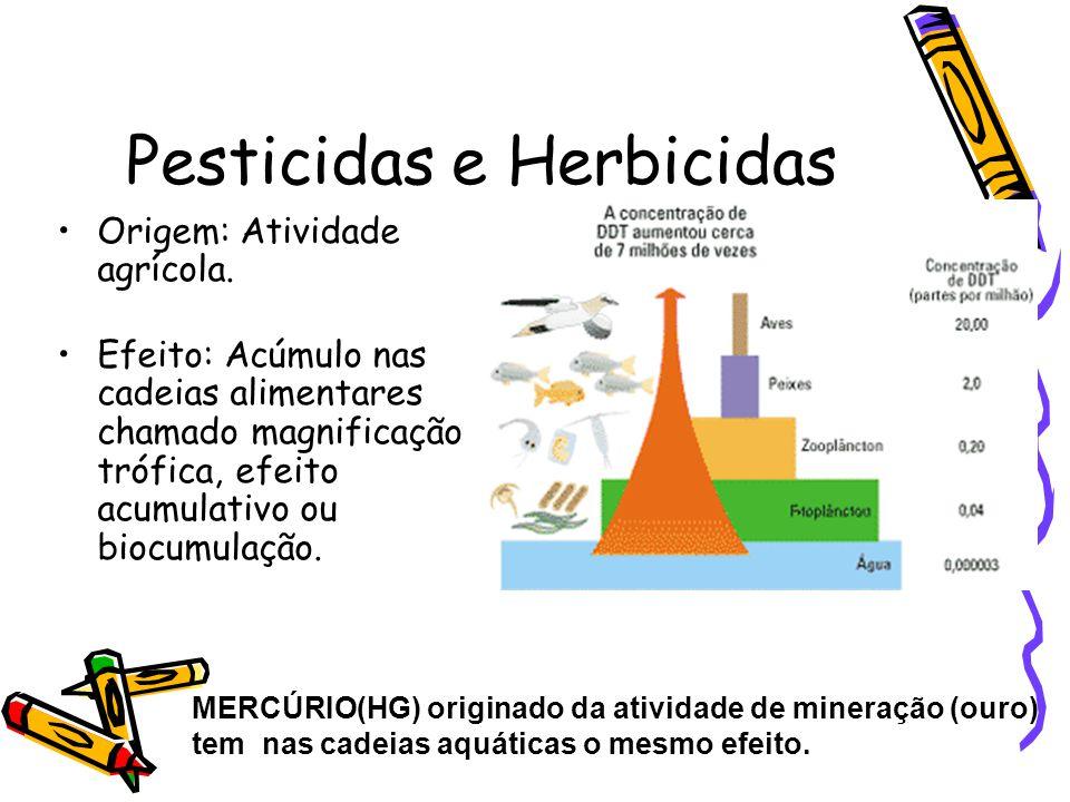 Pesticidas e Herbicidas