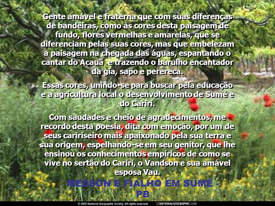 MEDSON E FIALHO EM SUMÉ - PB