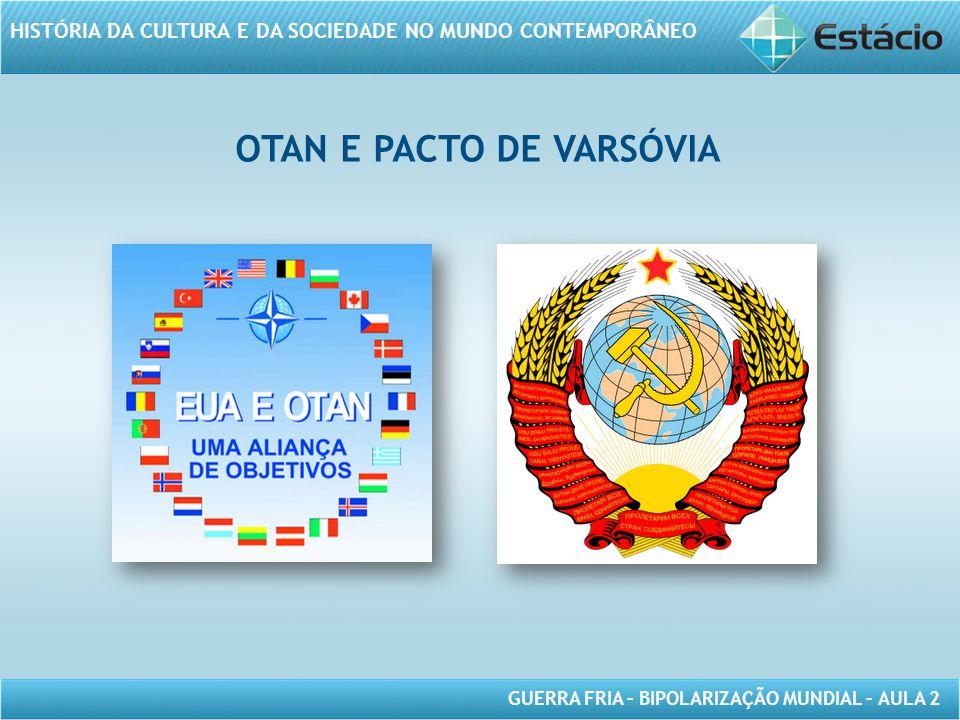 OTAN E PACTO DE VARSÓVIA