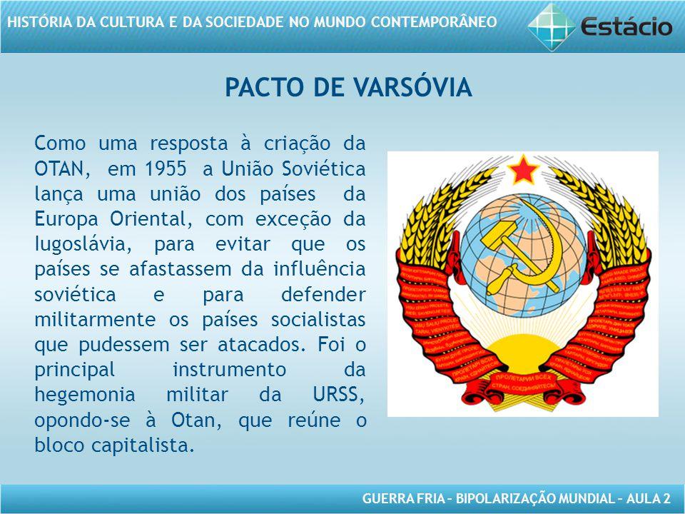 PACTO DE VARSÓVIA
