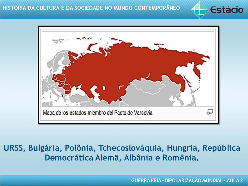 URSS, Bulgária, Polônia, Tchecoslováquia, Hungria, República