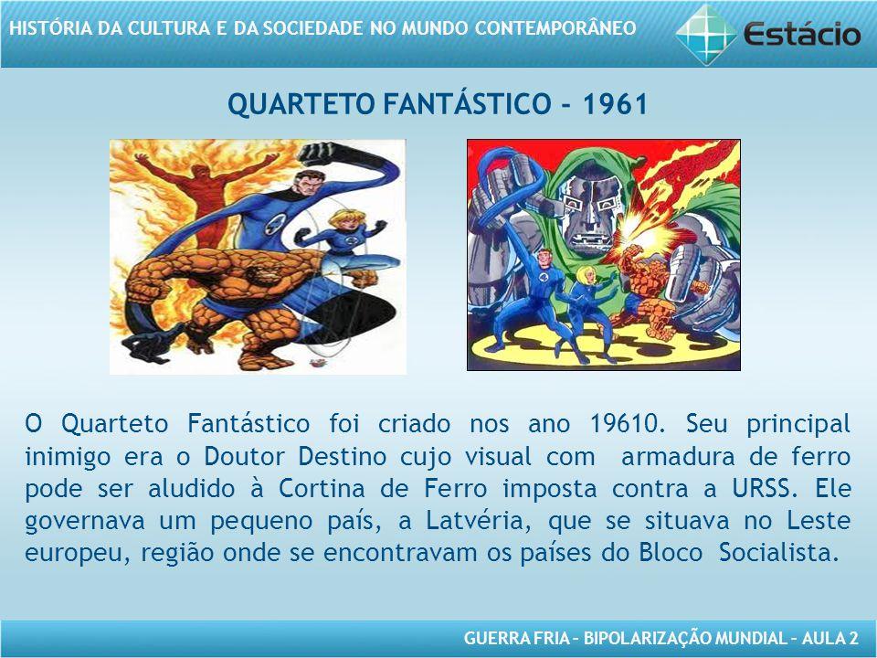 QUARTETO FANTÁSTICO - 1961