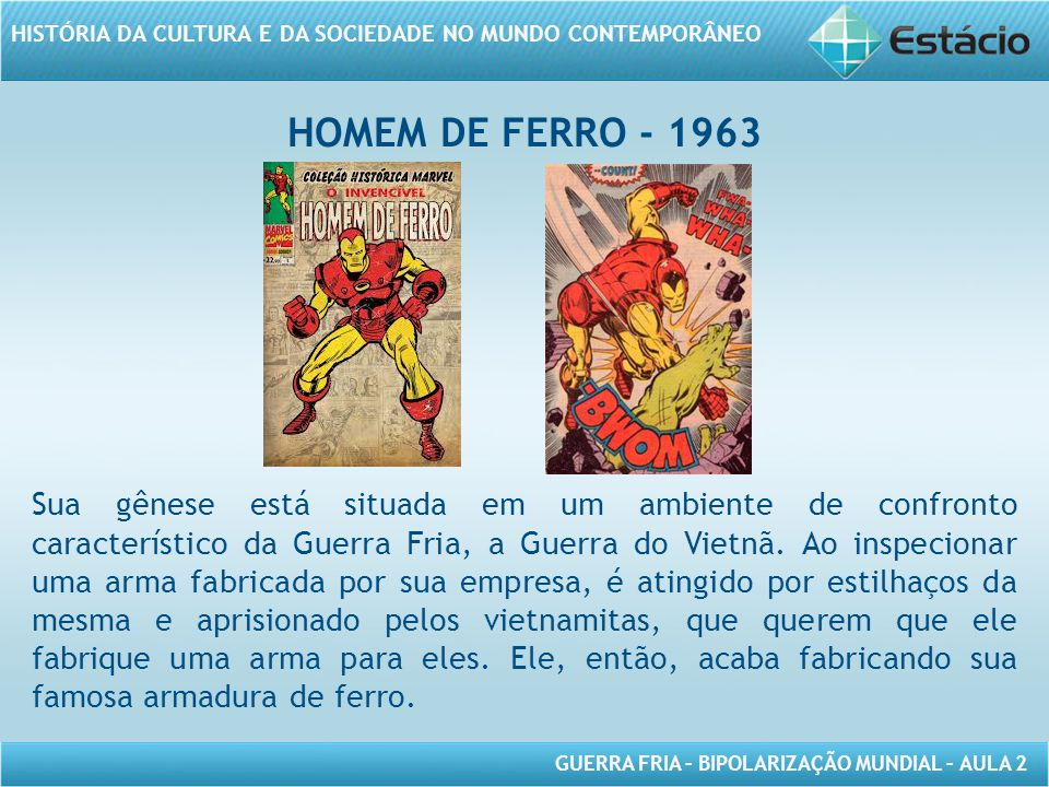 HOMEM DE FERRO - 1963