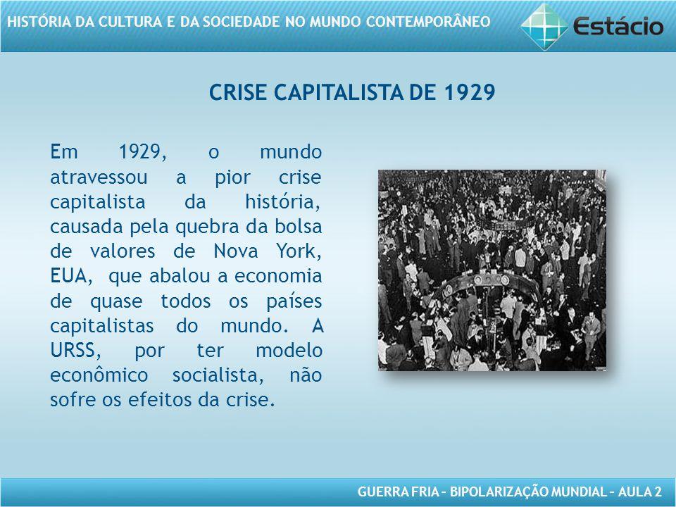 Crise capitalista de 1929