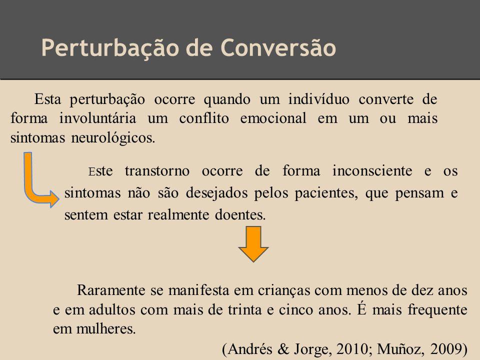 Perturbação de Conversão