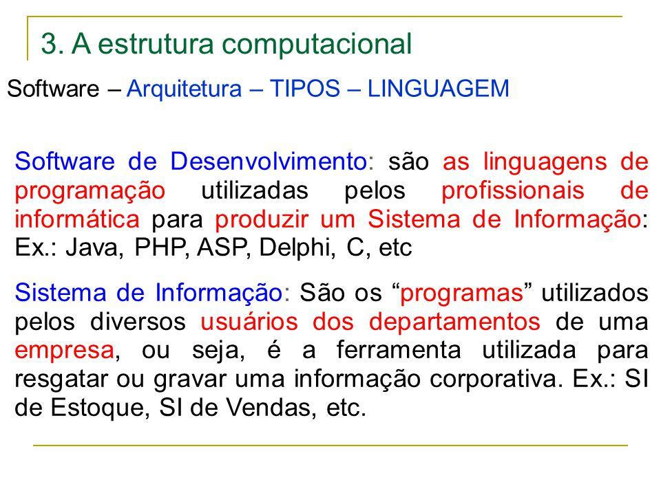 3. A estrutura computacional