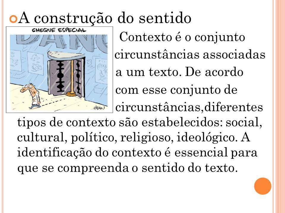 A construção do sentido