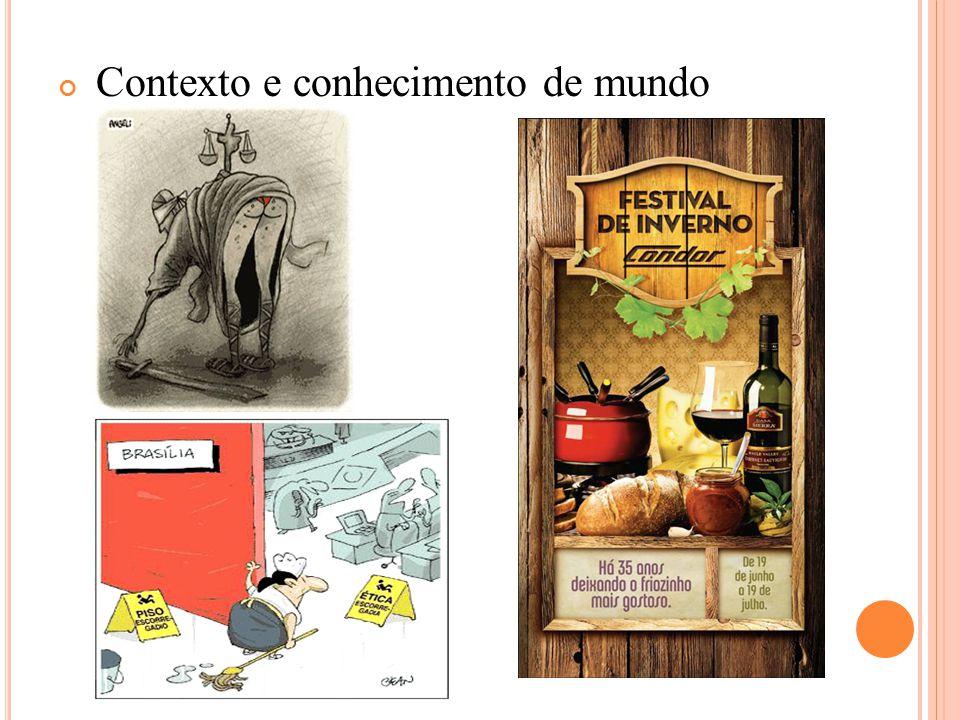 Contexto e conhecimento de mundo