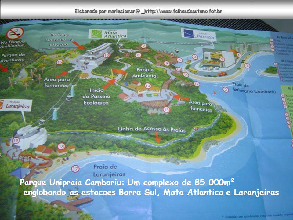 Parque Unipraia Camboriu: Um complexo de 85.000m²